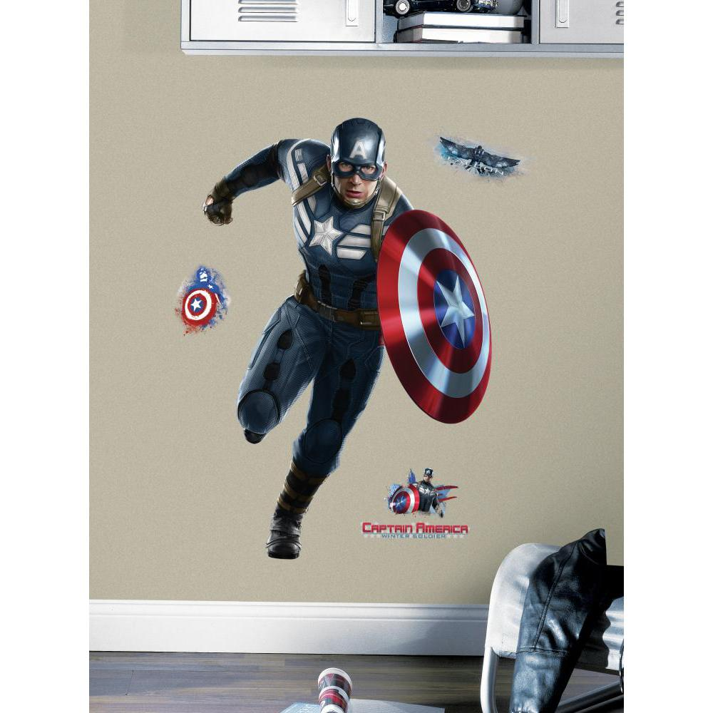 Captain America Giant Decal