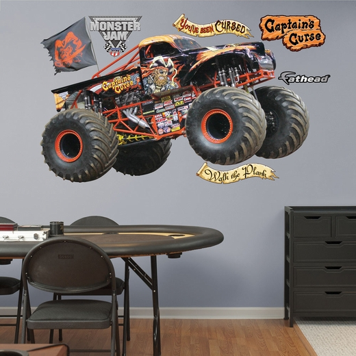 Captain's Curse REALBIG Wall Decal
