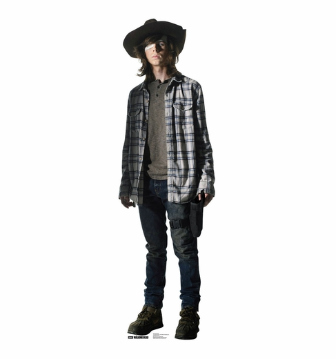 Carl Grimes The Walking Dead Cardboard Cutout