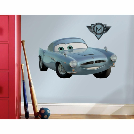 Cars 2 Finn McMissle Peel And Stick Wall Decal