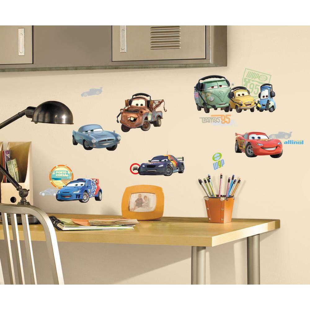 Cars 2 Peel And Stick Decal