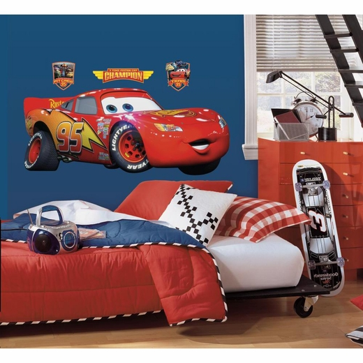 Cars-Lightening McQueen Peel And Stick Giant Decal
