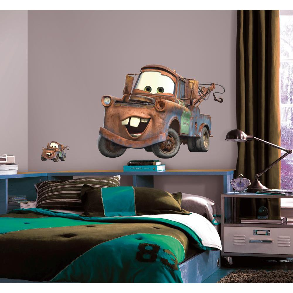 Cars-Mater Peel And Stick Giant Wall Decal