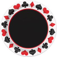Casino & Poker Party Tableware
