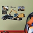 CAT Excavator Loading JUNIOR Wall Decal