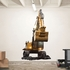 CAT Excavator REALBIG Wall Decal