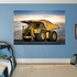 CAT Mining Truck Mural REALBIG Wall Decal