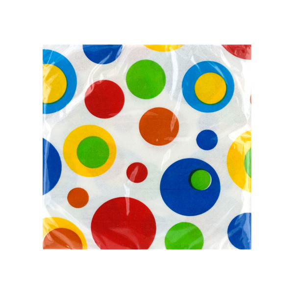Celebration Bubbles Beverage Napkins