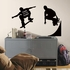 Chalkboard Skaters Chalk Peel And Stick Decal
