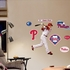 Chase Utley Swinging-Fathead Junior