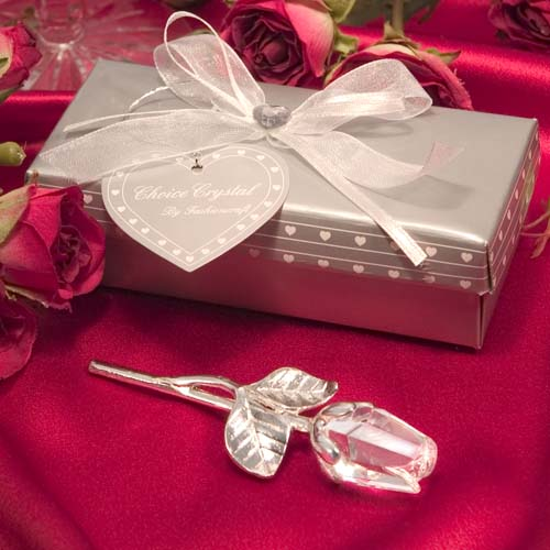 Choice Crystal By Fashioncraft Long Stem Rose