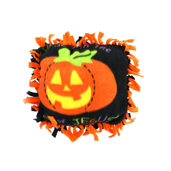 Christian Pumpkin Tied Pillow Craft Kit