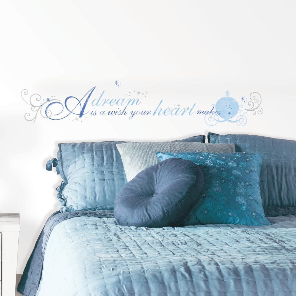 Cinderella A Dream is a Wish Decal