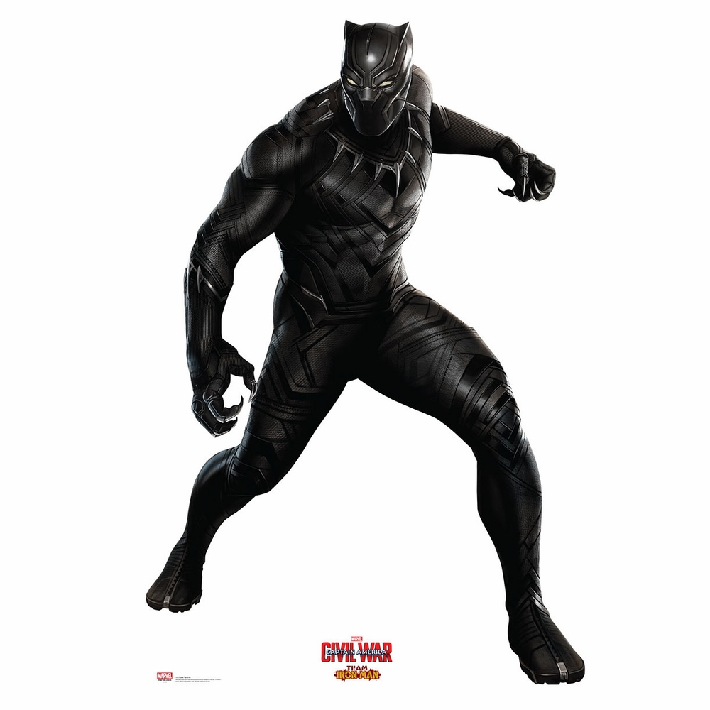 Civil War Black Panther Cardboard Cutout