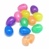 Clear Iridescent Easter Eggs