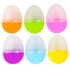 Clear Top Plastic Easter Eggs - 2 1/2""