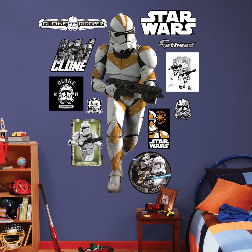 Clone Trooper REALBIG Wall Decal