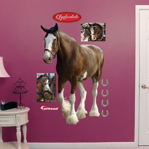 Clydesdale REALBIG Wall Decal