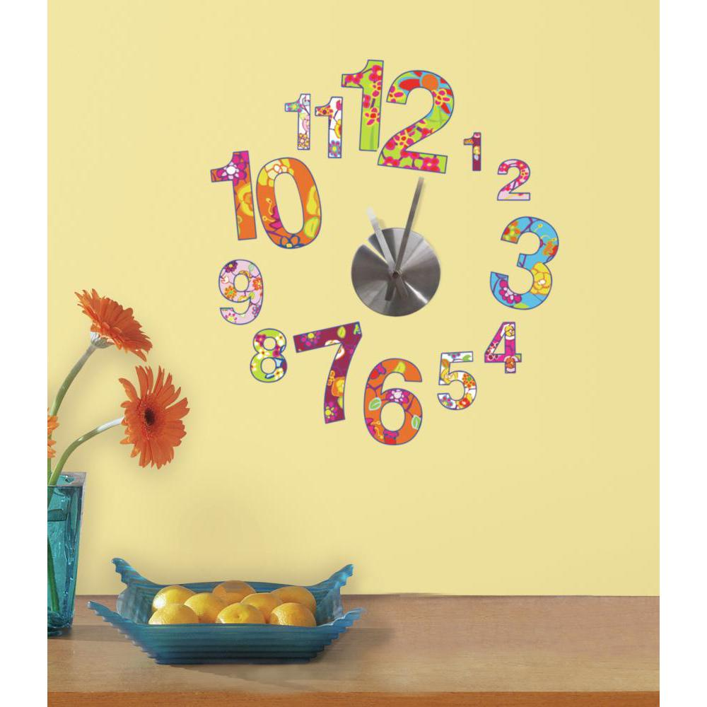 Colorful Clock Wall Clock