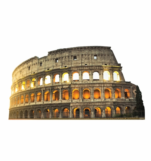 Colosseum in Italy Cardboard Cutout