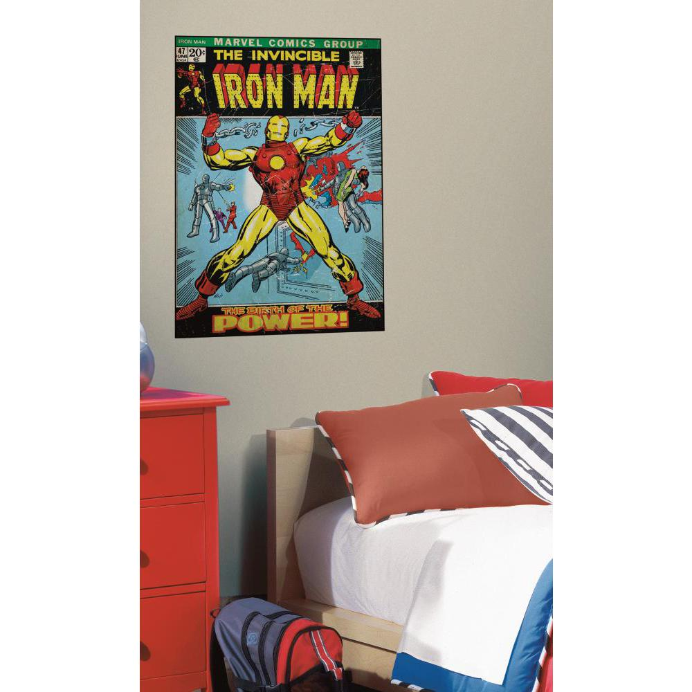 Comic Book Cover-Iron Man Comic Book Cover