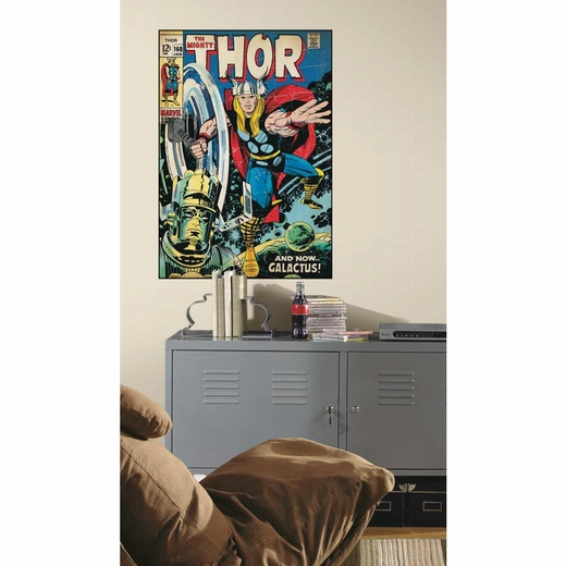 Comic Book Cover-Thor Comic Book Cover