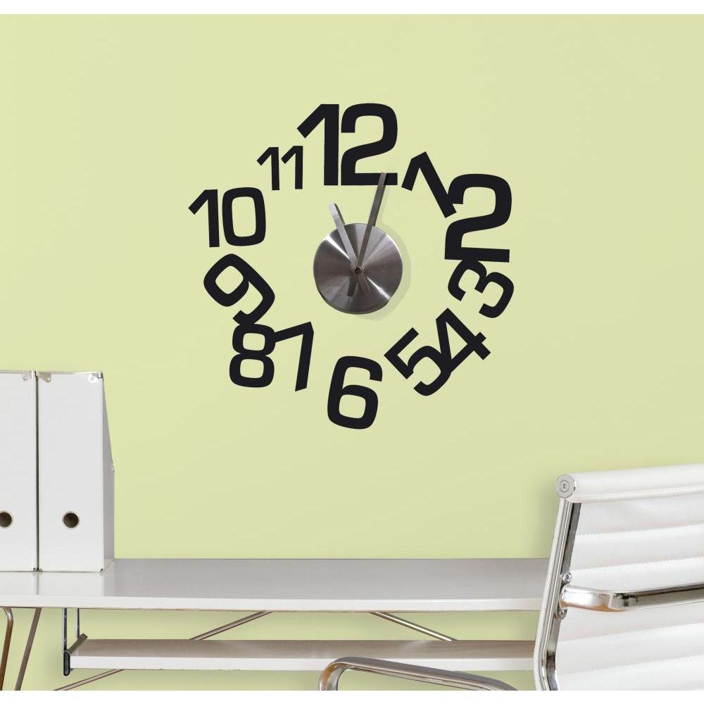 Contemporary Clock Decal