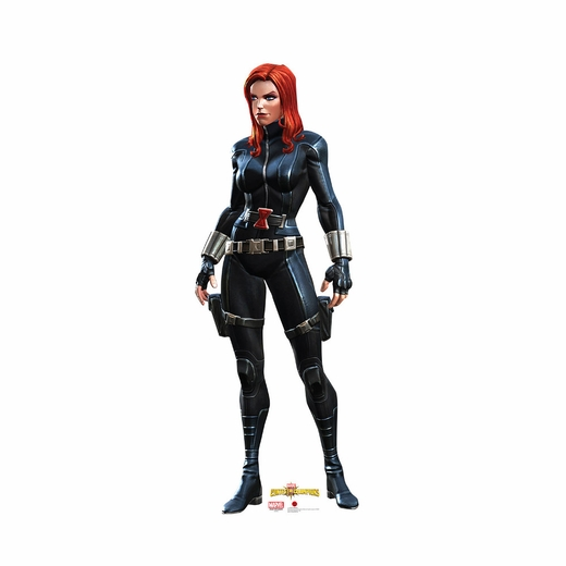 Contest Of Champions Black Widow Cardboard Cutout