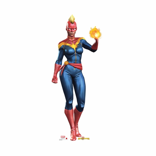 Contest Of Champions Captain Marvel Cutout