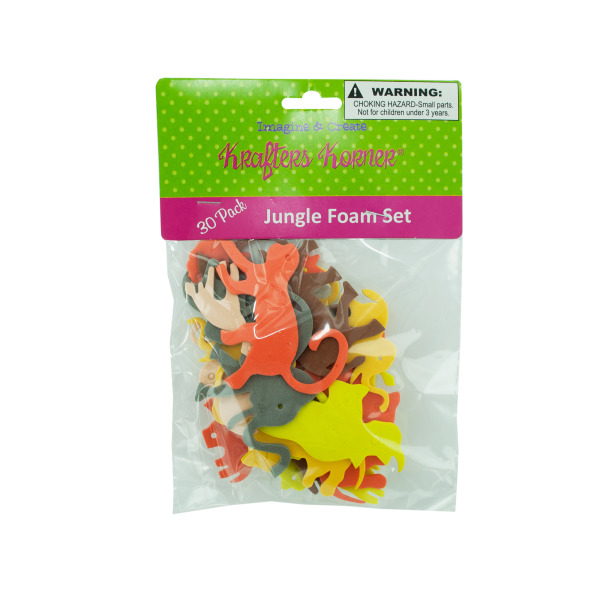Craft Foam Jungle Animals