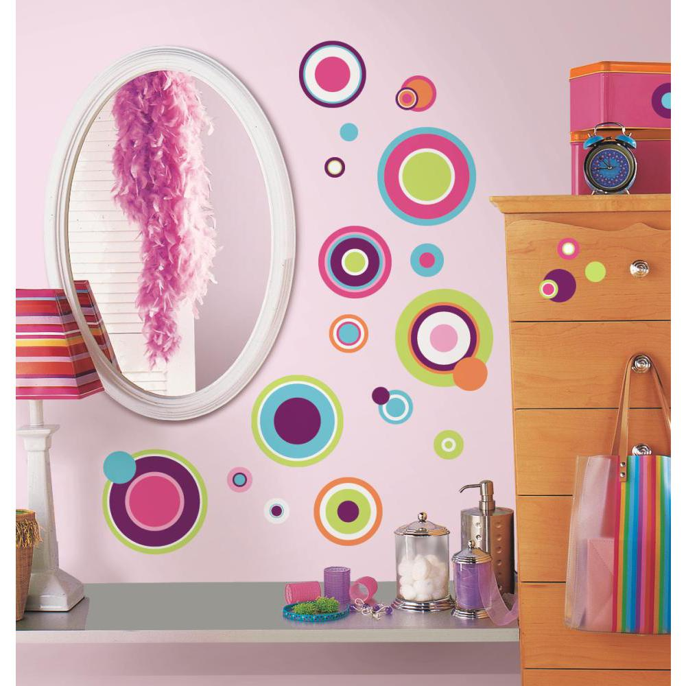 Crazy Dots Peel And Stick Decal