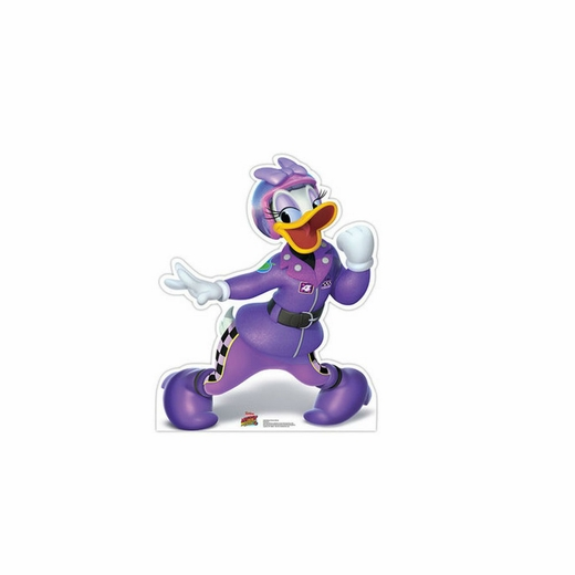 Daisy Victory Dance Disneys Roadster Racers Cardboard Cutout