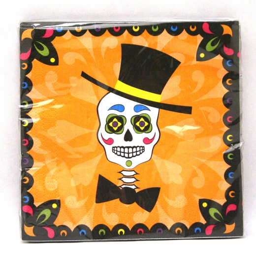 Day Of The Dead Lunch Napkins