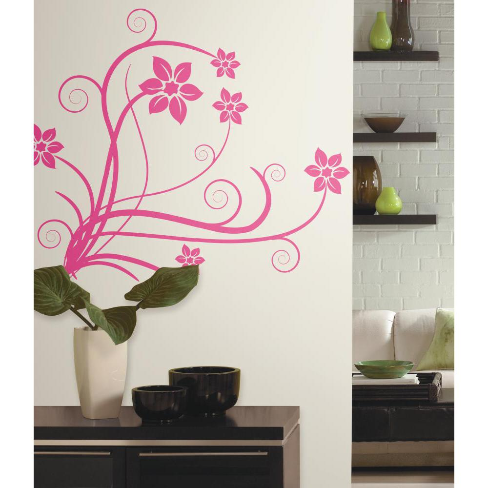 Deco Swirl Peel And Stick Decal