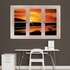 Deer at Sunset Scenic Window REALBIG Wall Decal