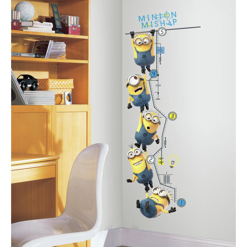 Despicable Me 2 Growth Chart Decal