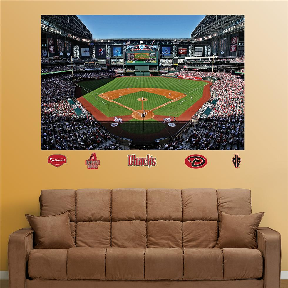 Diamondbacks Chase Field Stadium Mural �-Fathead