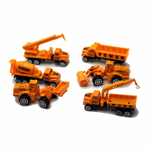 Die Cast Construction Trucks