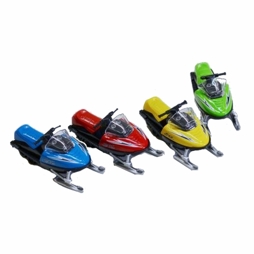 Die Cast Snowmobile
