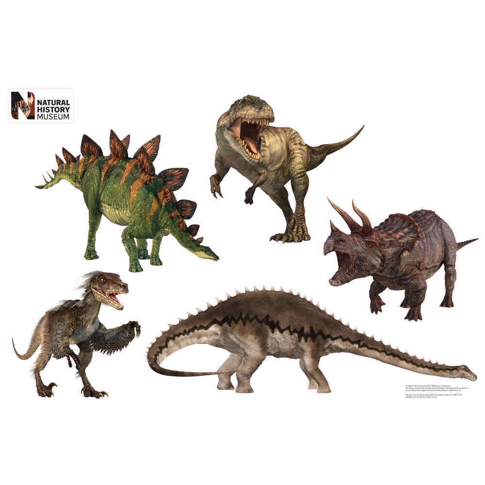 Dinosaur Group Layout Wall Decor