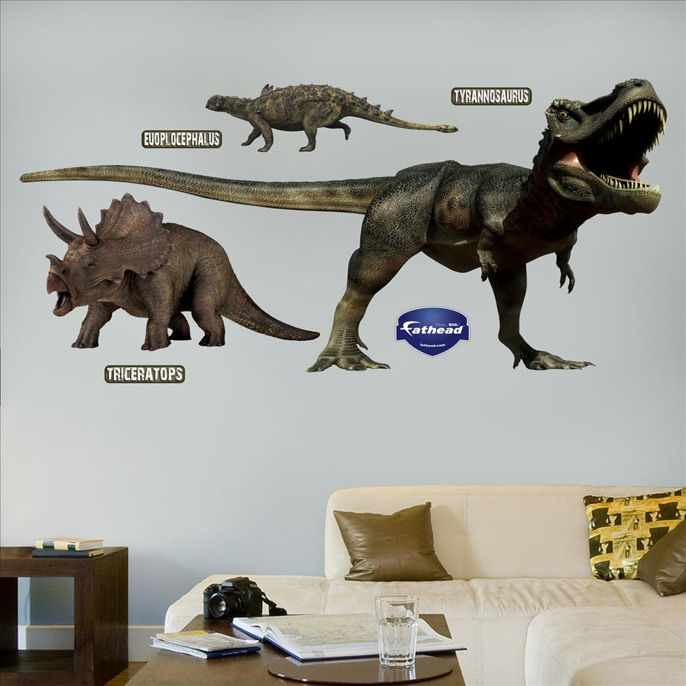 Dinosaurs Group-Fathead