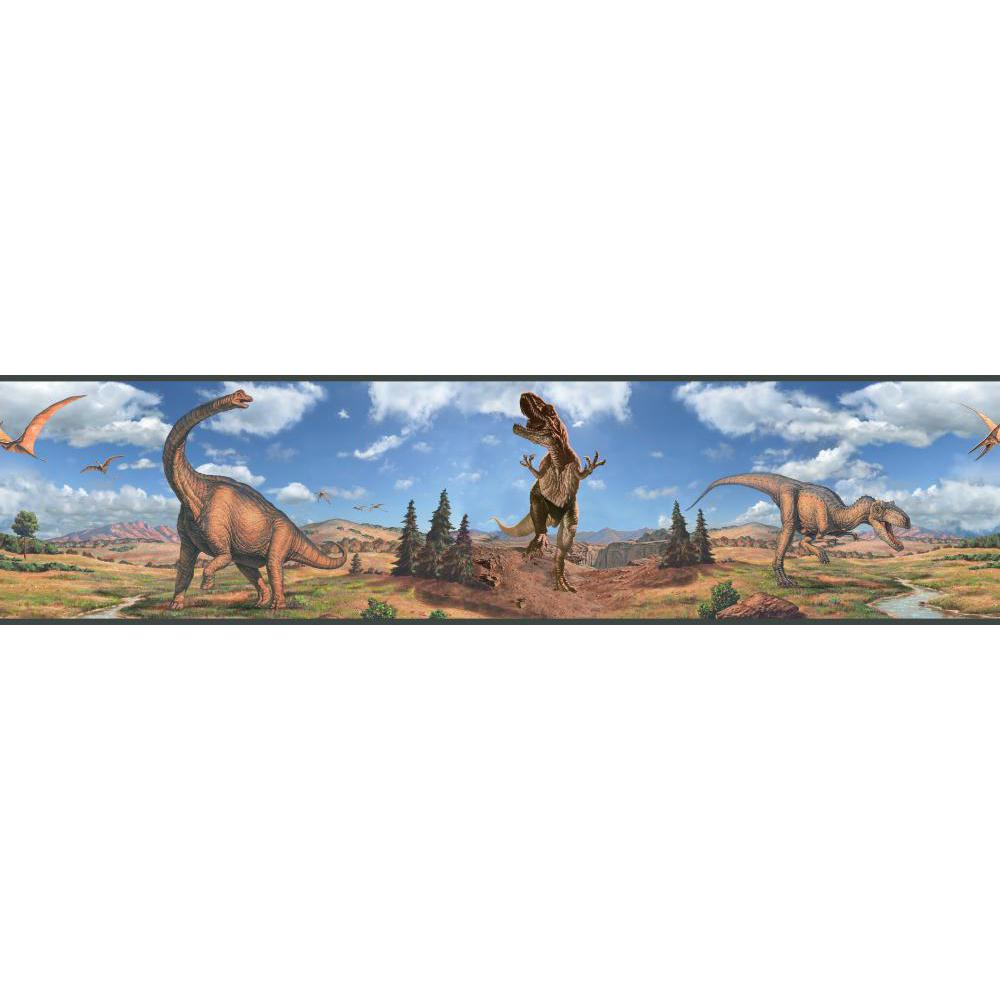 Dinosaurs Peel And Stick Border