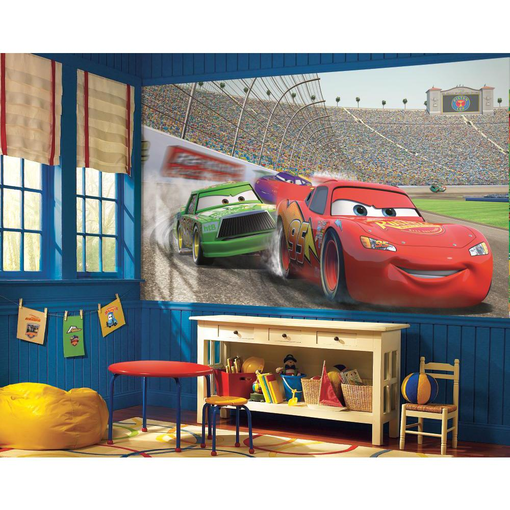 Disney Cars Chair Rail