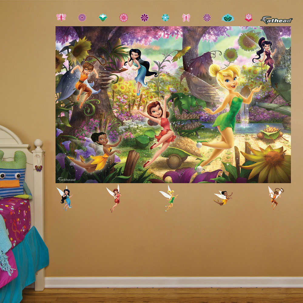 Disney Fairies Mural REALBIG Wall Decal