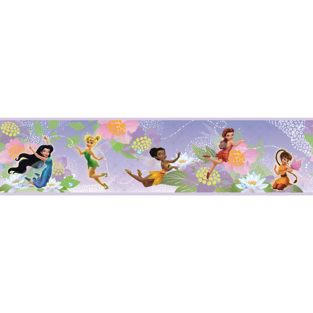 Disney Fairies Peel And Stick Border
