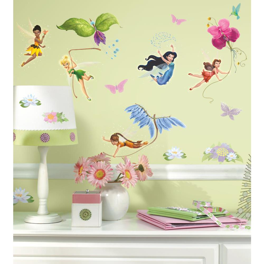 Disney Fairies Peel And Stick Decal