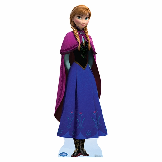 Disney Frozen Anna Lifesized Standup