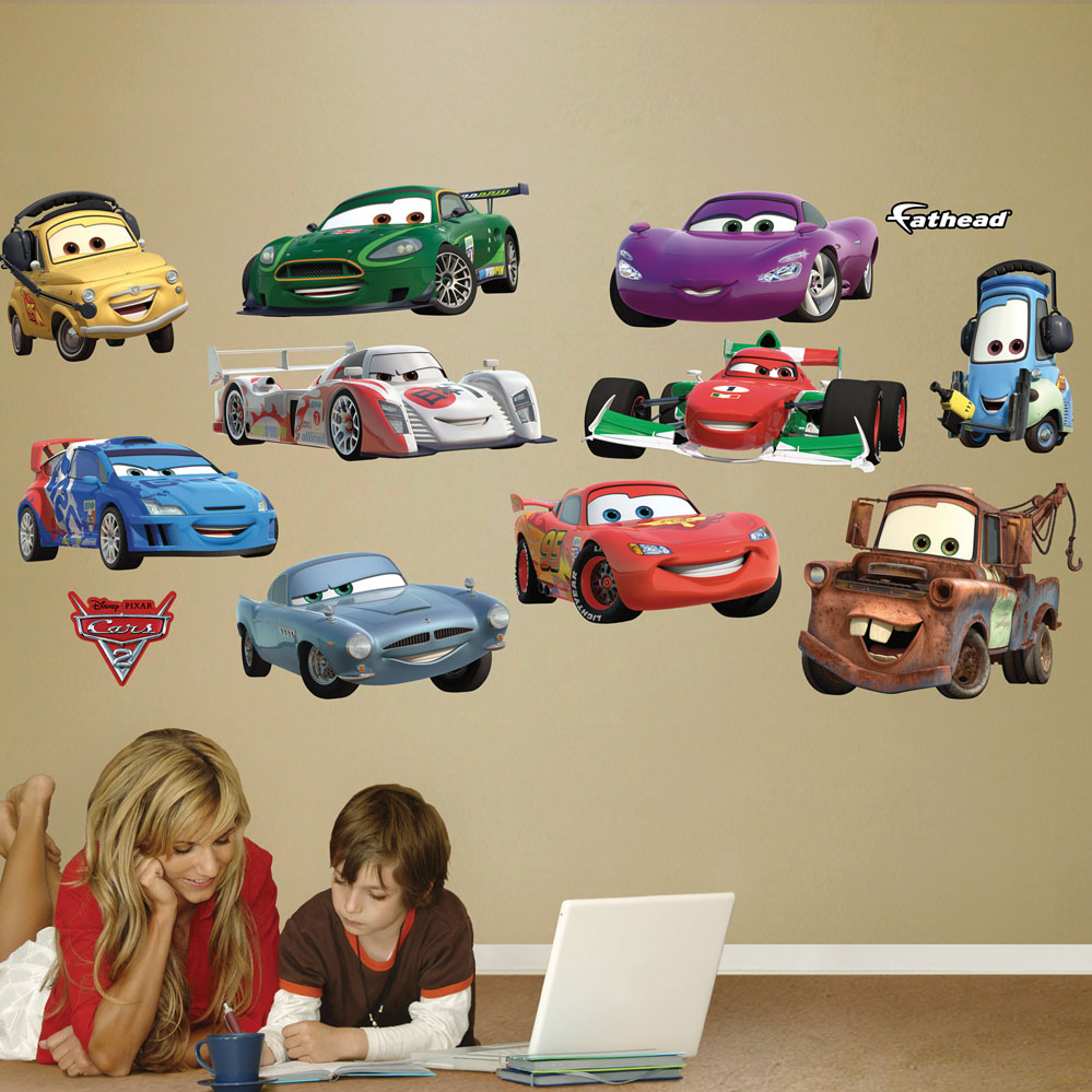 Disney/Pixar Cars 2 Collection REALBIG Wall Decal