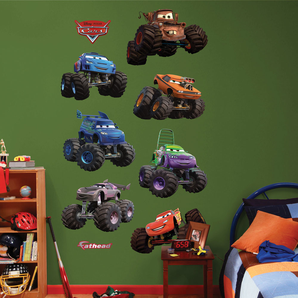 Disney/Pixar Cars Monster Trucks Collection