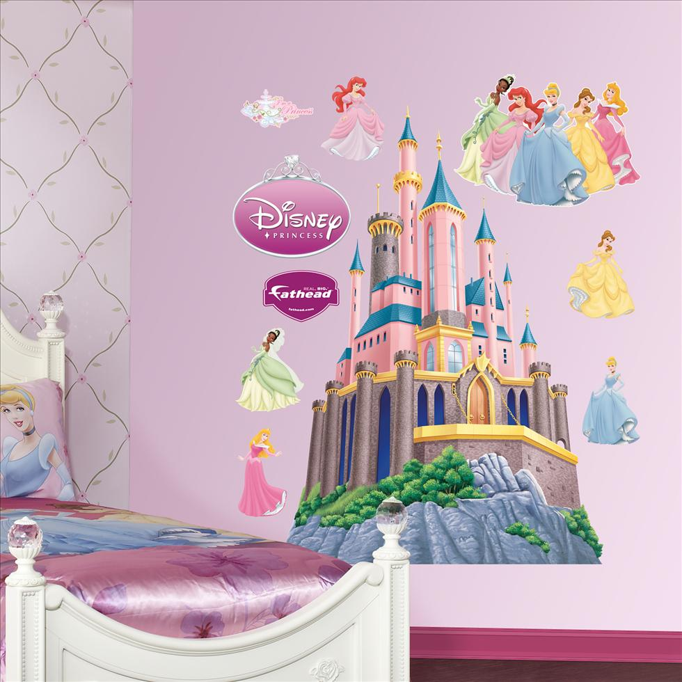 Disney Princess Castle-Fathead